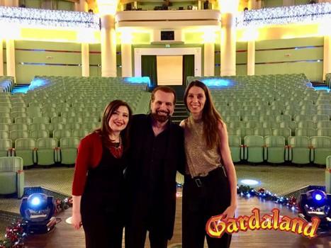 Carlo Truzzi, Simona e Nadia Pretto @ Gardaland
