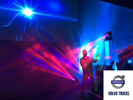 «Laser Harp Experience» @  Volvo Gran Gala