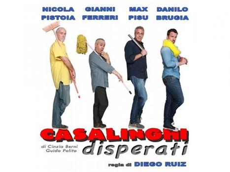 """Max Pisu e """"Casalinghi disperati"""""""